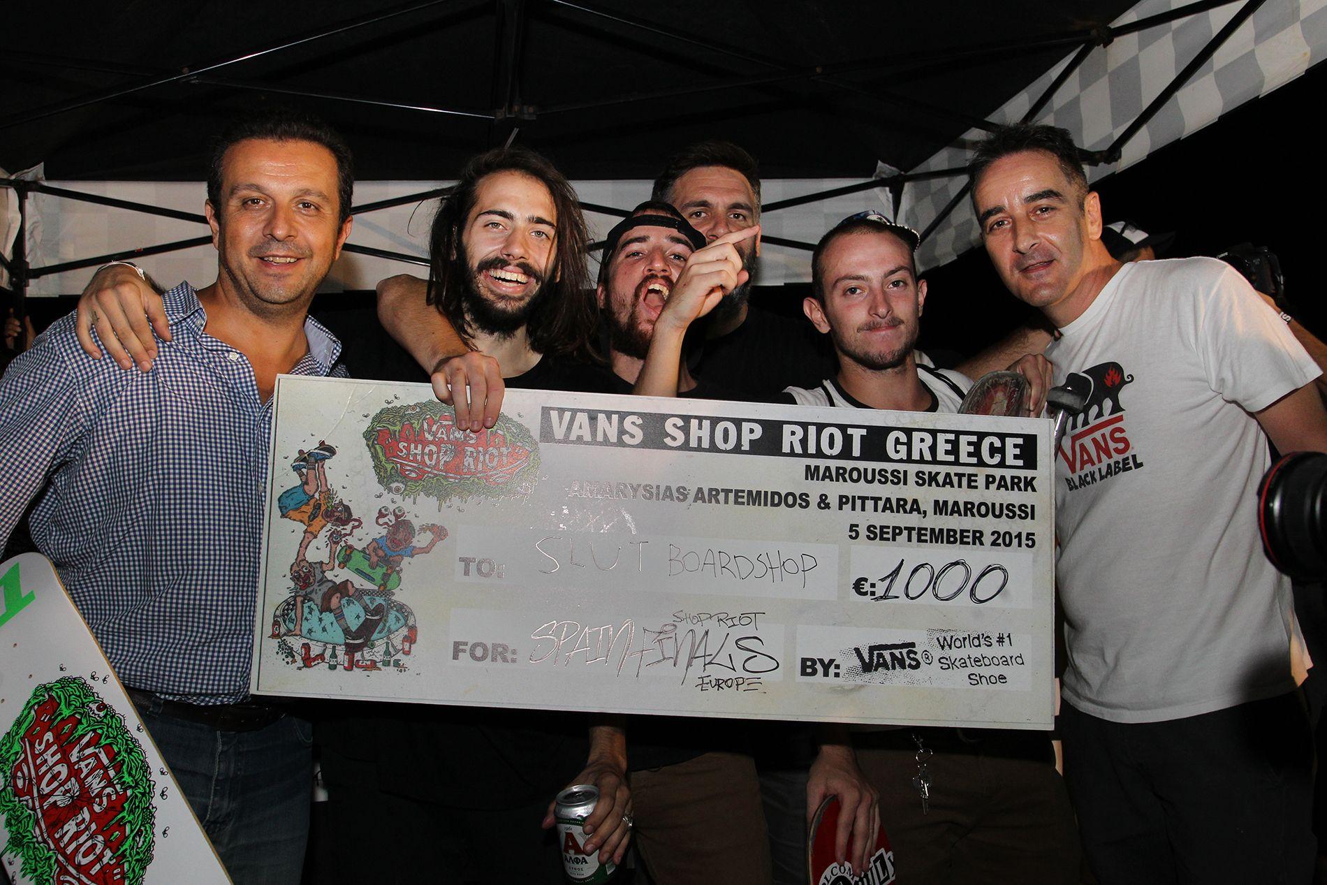 7787b1d6d9 Vans Shop Riot Greece 2015 winners