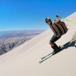 Σκι σ' έναν από τους ψηλότερους αμμόλοφους στον κόσμο!