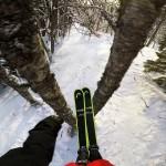 Το ski run του Jesper Tjäder μέσα στο δάσος είναι απλά ένα έπος