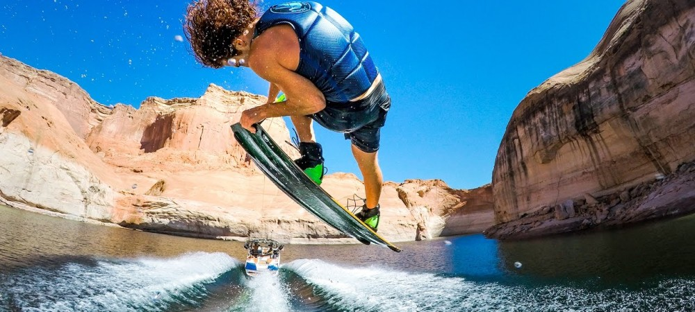 GoPro- Lake Powell Wakeboarding Adventures
