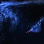 Surfing. To βράδυ. Στο Jaws.