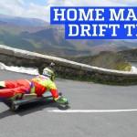 Τρελό downhill με αυτοσχέδια drift trikes!
