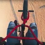 O BMX Pro Rider Nigel Sylvester στο Ντουμπάι με την Go Pro του