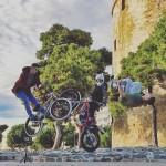 BMX, Parcour και Freestyle Trial στους δρόμους της Θεσσαλονίκης