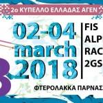 """Apollo Cup 3"": Διεθνείς Αγώνες FIS και 2ο Κύπελλο Ελλάδας Ανδρών Γυναικών Εφήβων Νεανίδων, από τις 2 έως τις 4 Μαρτίου στο Χιονοδρομικό Κέντρο Παρνασσού"