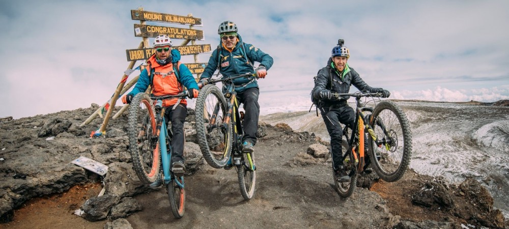 Mountain Bike Kilimanjaro 1