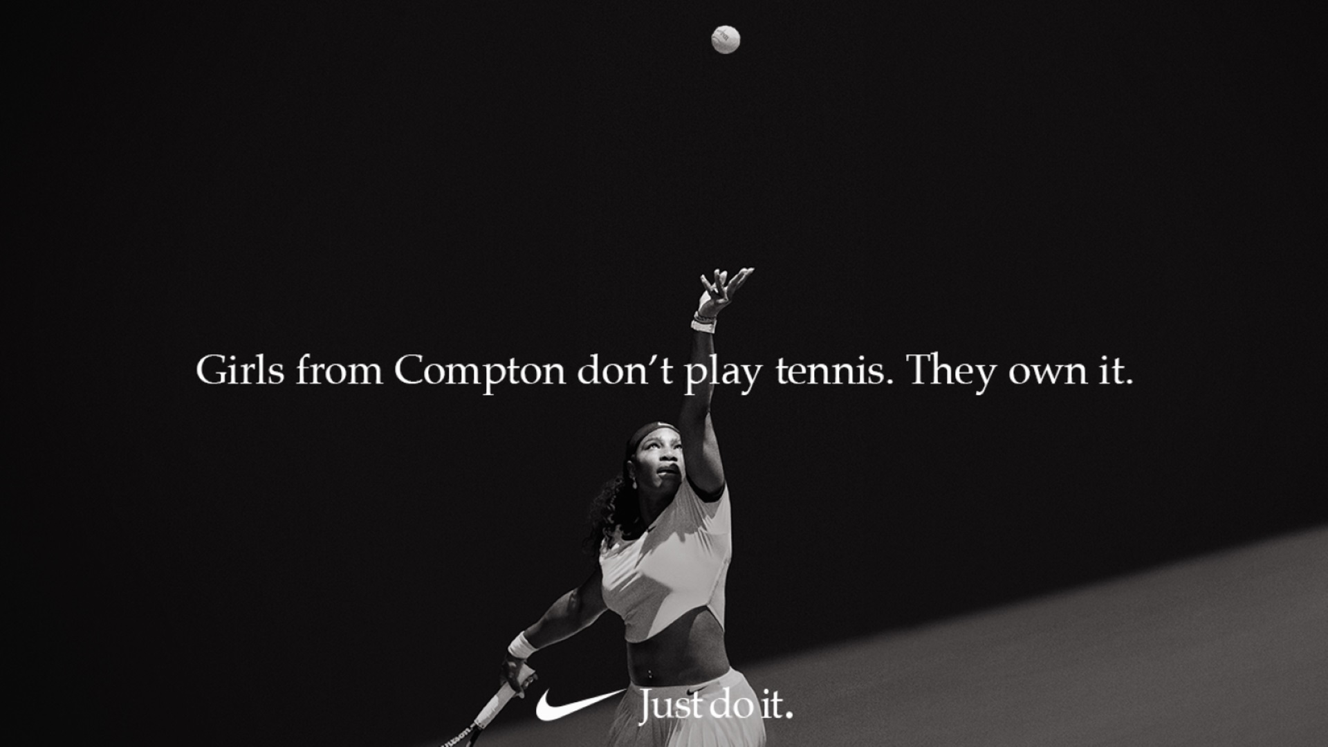 Just do it_Serena Williams