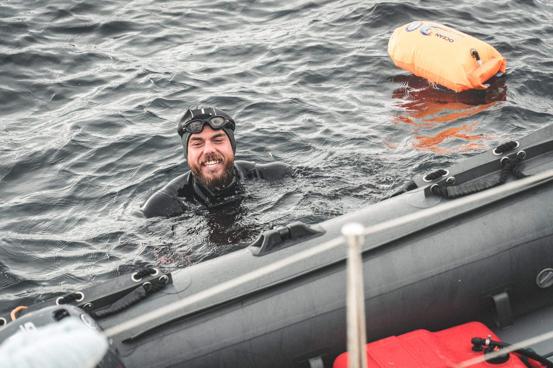 Ross Edgley - Great British Swim - John O Groats